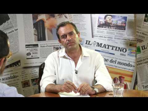 Ballottaggio Napoli, forum con il candidato Luigi de Magistris Una sfida lunga cinque anni, quella tra Luigi de Magistris e Gianni Lettieri.