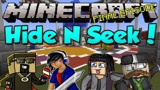 Minecraft: Hide N Seek! Episode 3 (w/ AntVenom, CavemanFilms, and Gizzy)
