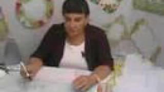 """Gaby Beltrán Curso """"Técnicas De Pintura Textil"""" (fragmento)"""