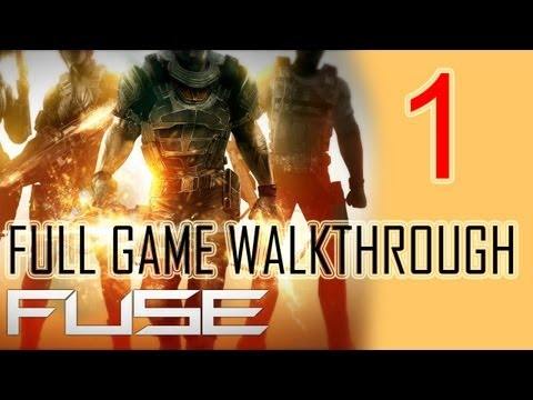 Fuse Gameplay Walkthrough Part 1 Let's play HD Fuse Game Walkthrough