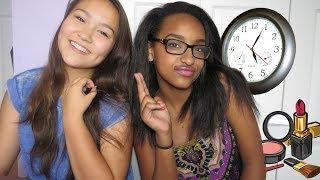 3 MINUTE MAKEUP CHALLENGE ft Amanda!