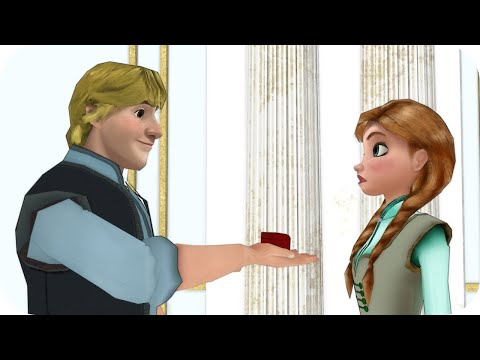 Kristoff and Anna Married? Elsa & Anna of Arendelle Episode 12 - Frozen Princess Parody