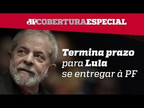 Cobertura da prisão de Lula; sexta-feira