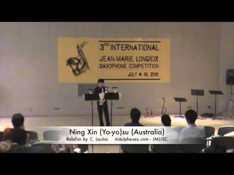 3rd JMLISC: Ning Xin (Yo-yo)su (Australia) Balafon C.Lauba