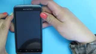 Hard Reset Alcatel One Touch 960C Cricket