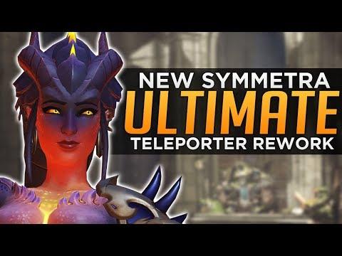 Overwatch: Symmetra NEW Ultimate! - Teleporter REWORK!