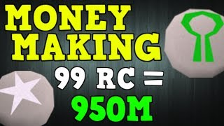 Ultimate RUNECRAFTING Money Making Guide 2.4M Per Hour