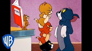 Tom & Jerry   Home But Not Alone!   Classic Cartoon Compilation   WB Kids