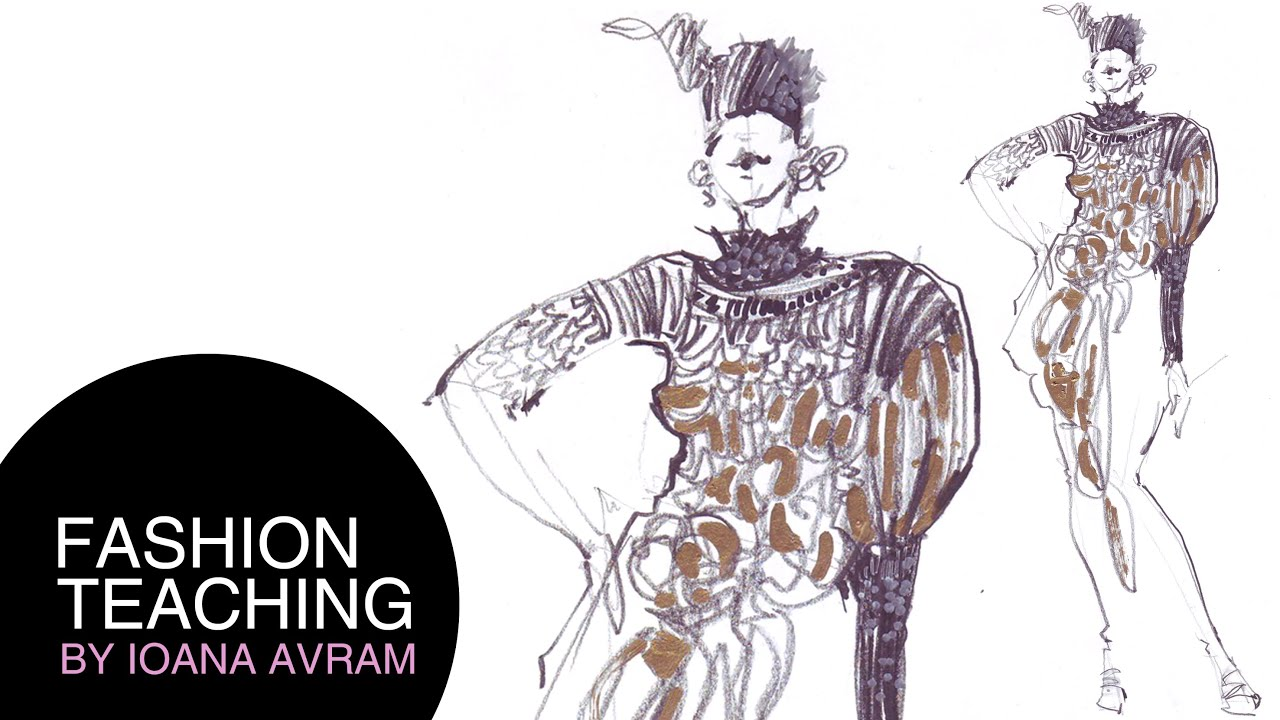 Fashion drawing for beginners book 60