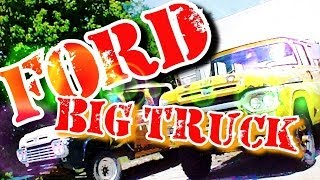 I HATE TRUCKS!-Redneck Truckin-4X4 Ford Pickup Truck-Part 2