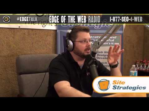 Converting Lost Website Visitors | Edge of the Web Radio