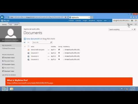 Troubleshooting Problems Syncing Files with SkyDrive Pro for Office 365
