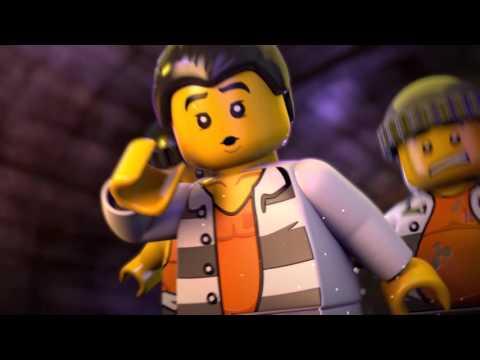LEGO City Väzenie na ostrove: Útek