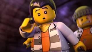 LEGO City Vězení na ostrově: Útěk z vězení na ostrově