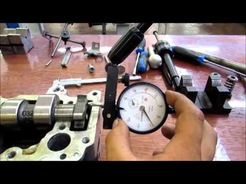 Video aula de desmontagem, inspeçöes, mediçöes e montagem do cabeçote Motor 1 6 L VW Power