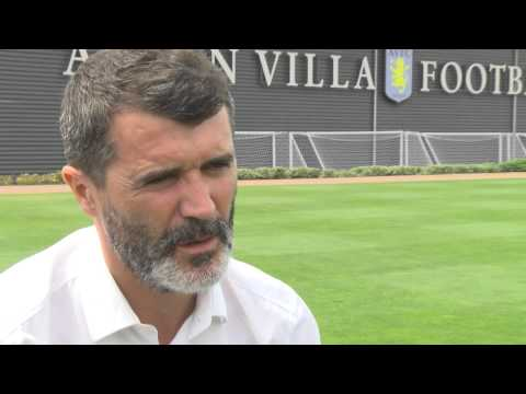 Roy Keane interviewed as Aston Villa assistant manager