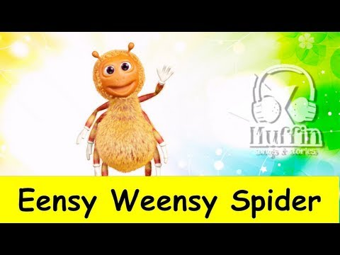 Eensy Weensy Spider  | nursery rhymes & children songs with lyrics