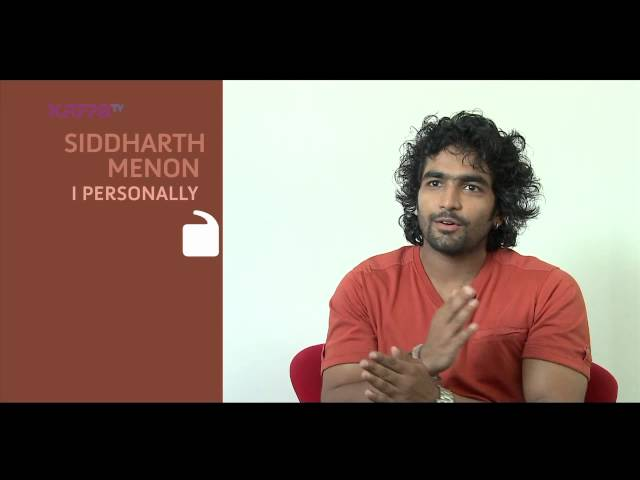 I Personally - Siddharth Menon - Part 1 - Kappa TV
