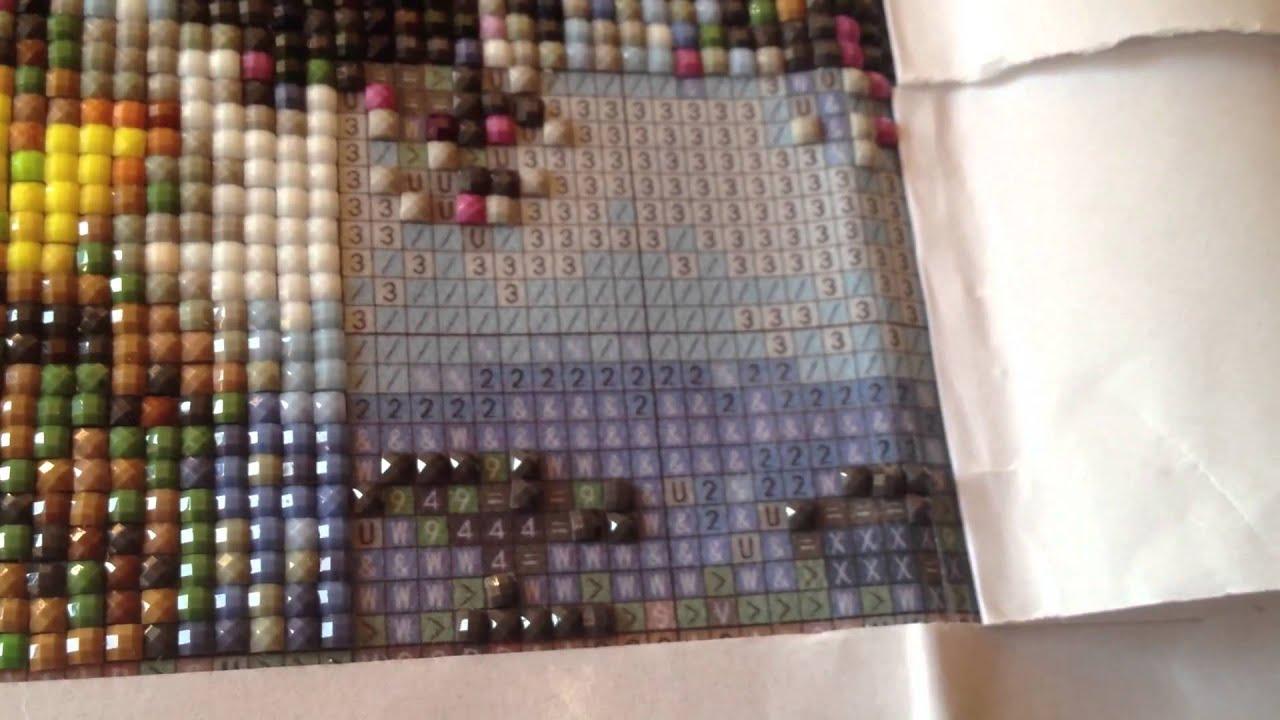 Эксклюзивная алмазная мозаика - изготовленная по Вашему эскизу (фото) 13