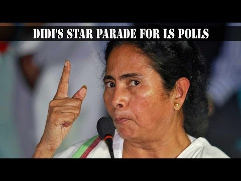 Mamata Banerjee announced star studded candidate list yesterday