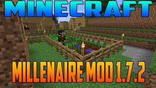 Minecraft 1.7.2 Como Descargar E Intalar Millenaire MOD