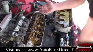 Замена прокладки крышки клапанов на двигателе B16A