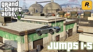 GTA5 Stunt Jumps 1-5 (Tutorial) :: Grand Theft Auto V [PS3