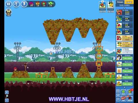 Angry Birds Friends Tournament Level 4 Week 138 (tournament 4) no power-ups