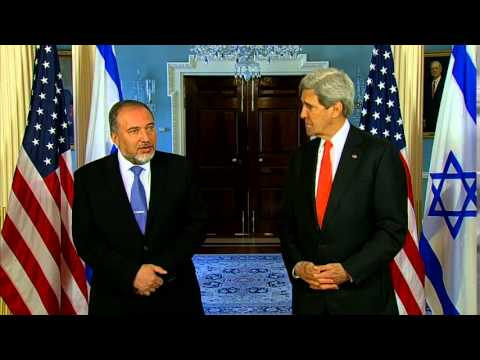 Secretary Kerry Delivers Remarks With Israeli Foreign Minister Lieberman