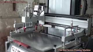 [Flatbed Screen Printing Machine(NSP-6090)] Video