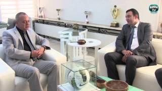 Manisaspor Yönetiminden Başkan Ergün'e Ziyaret