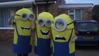 Instructable DIY: How Do You Make A Minion Costume