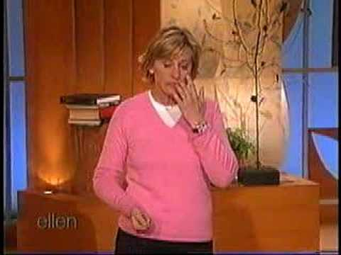 Ellen's vacation monologue