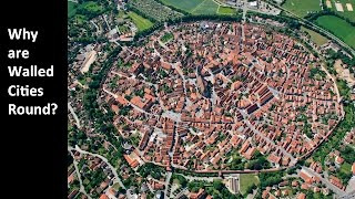 Why are Walled Cities Round?
