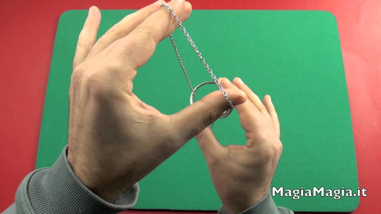 Ring And Chain Magic Trick