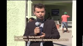 Posto de sa�de que tinha sido fechado por traficantes � reaberto em Santa Luzia