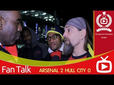 Arsenal FC 2  Hull City 0 - It Could Be A Good Christmas says Bully