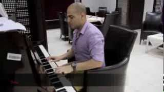 Piano player Saad Mahfouz by Fatima Melhem