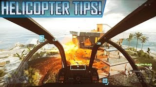 Battlefield 4: How To Fly Helicopters! Helicopter Flying