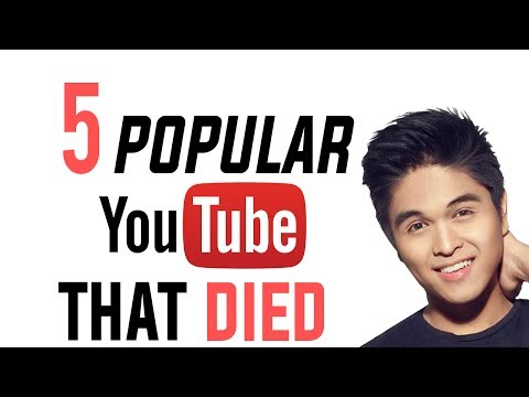 5 POPULAR YOUTUBERS THAT HAVE DIED