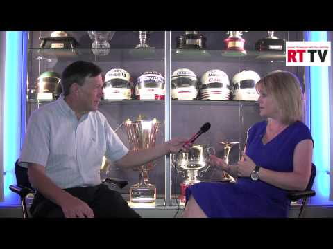 RACE TECH editor William Kimberley interviews Williams F1 Kirsty Andrew