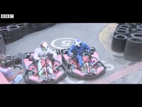 Lewis Hamilton goes back to his karting roots (BBC F1 2014)