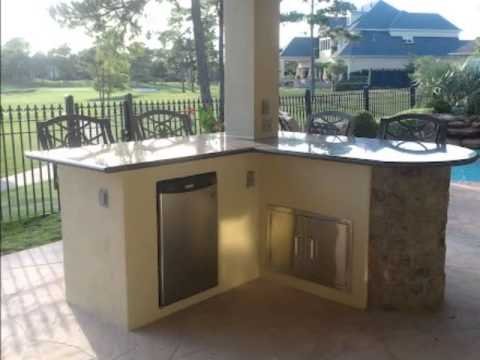 Outdoor Kitchens And Patio Covers Houston Tx Katy Tx The Woodlands Youtube