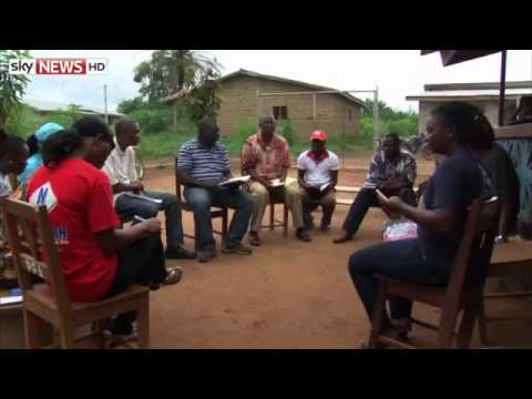 Ebola Outbreak  Sky News Special Report From Alex Crawford In Liberia