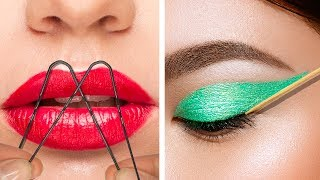 21 EASY LIFE HACKS FOR PERFECT MAKEUP