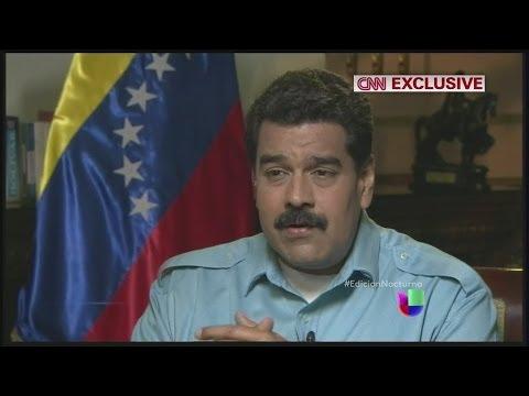 Detalles de la entrevista de Nicolás Maduro a CNN