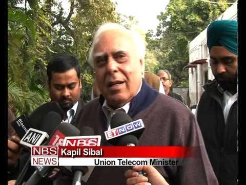 2G auction will make FM & consumer smile: Sibal