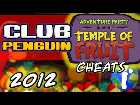 Club Penguin: Adventure Party 2012 - Temple of Fruit,