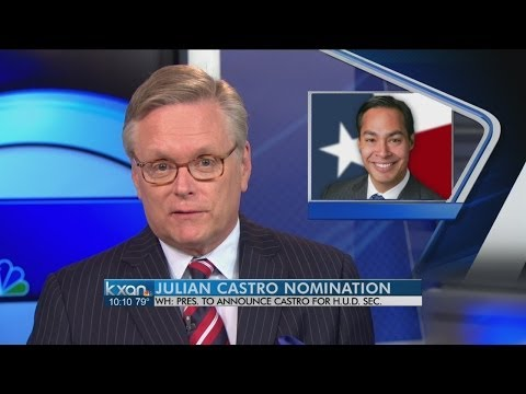 White House: Obama to add Julian Castro to Cabinet