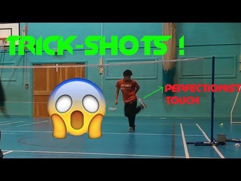 Badminton Trick-shots - #1